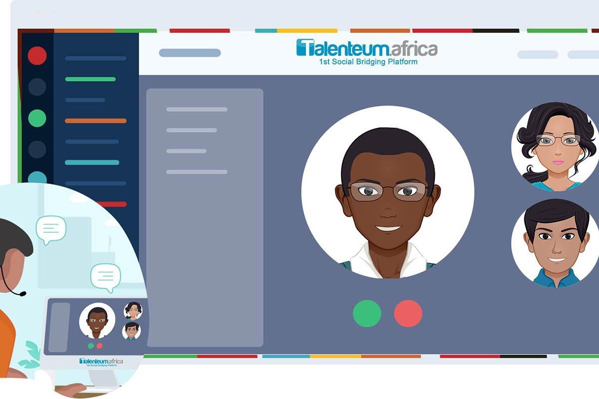 la plateforme du travail à distance en Afrique