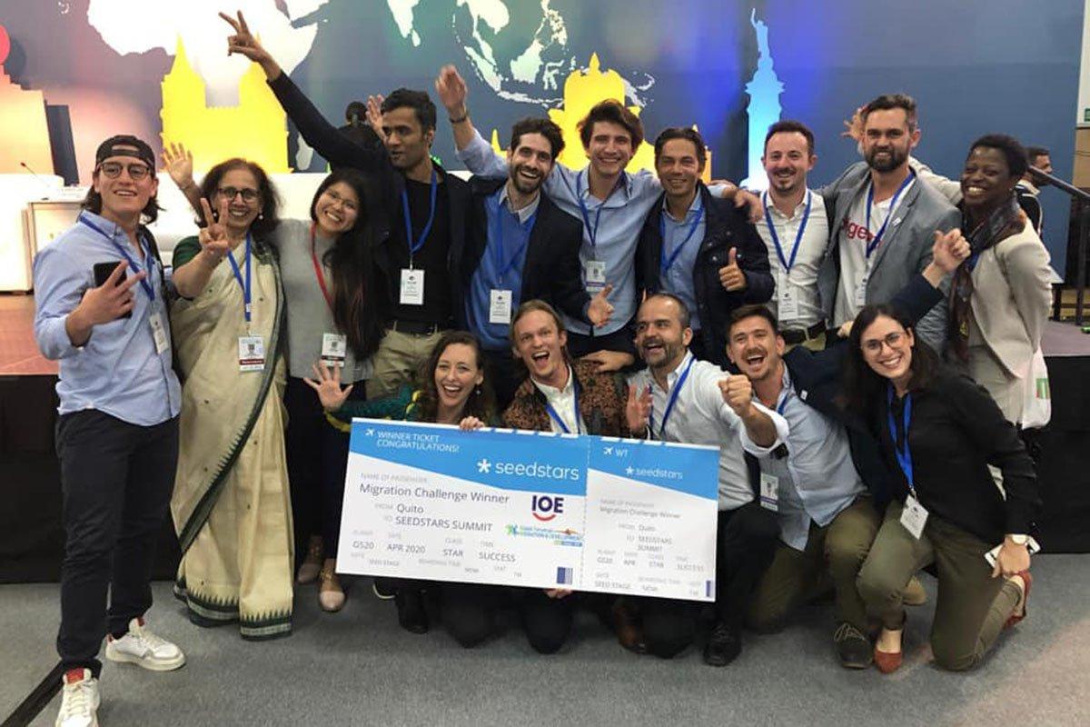 Pitch Startup pour le concours Migration Challenge